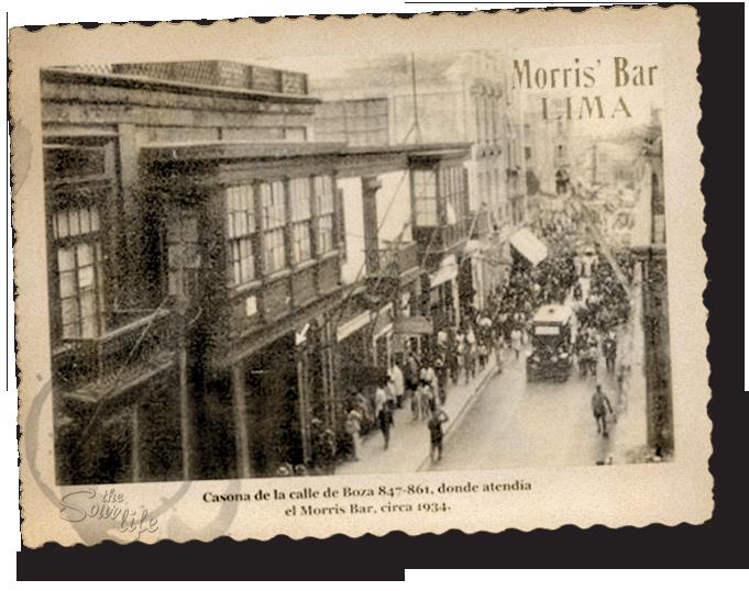 Morris Bar Lima circa1934